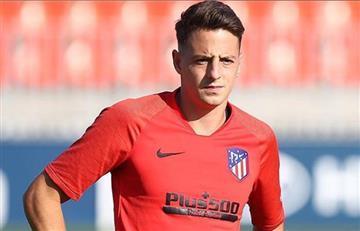 'Santi' Arias sería suplente en el último partido de Atlético de Madrid en el año