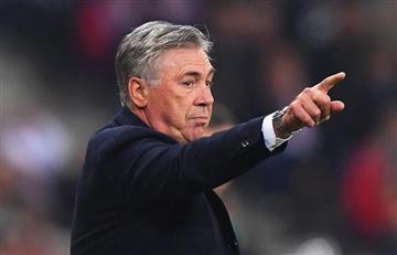 Carlo Ancelotti ahora entrenará al colombiano Yerry Mina