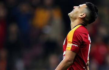 Falcao García fue titular en una nueva derrota de Galatasaray