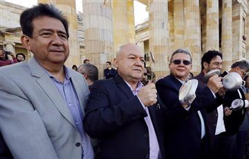 """Líder de protestas dice en Colombia """"hay opinión distinta"""" a la del Gobierno"""