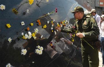 Medellín inaugura parque en memoria de las miles de víctimas del narcotráfico