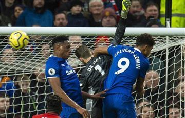 [VIDEO] Yerry Mina jugó un gran partido y no dejó que Arsenal anotara