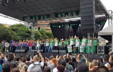 Así se vivió el concierto del paro en Medellín