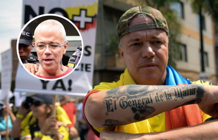 'Popeye', exjefe de sicarios de Pablo Escobar. Foto: Twitter