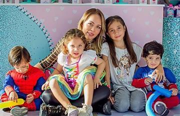 Foto por la que afirman que Sandra Barrios ya superó a Jessi Uribe