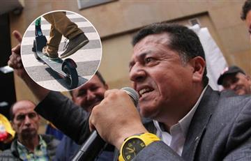 """Líder de taxistas """"amenazó"""" con acabar el servicio de patinetas eléctricas en Colombia"""