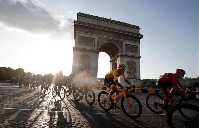 Egan Bernal campeón Tour de Francia 2019. Foto: EFE