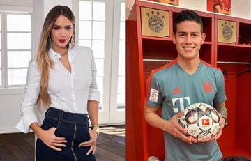 Siguen juntos: Shannon de Lima publicó romántica foto junto a James Rodríguez en sus redes sociales