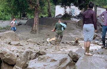 Desbordamiento en Chaparral deja siete muertos y varios desaparecidos