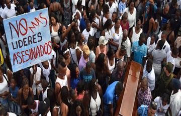 Gobierno colombiano afirma que en el 2019 hubo una reducción de asesinatos de líderes sociales