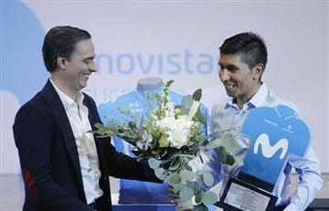 Las polémicas declaraciones del director del Movistar Team sobre Nairo Quintana