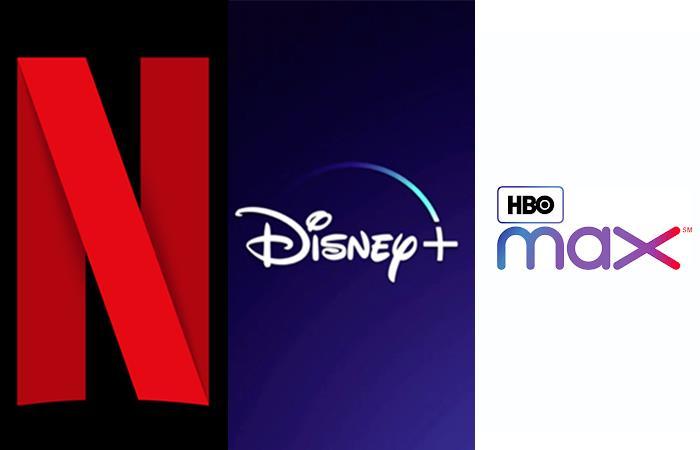Plataformas de streaming Disney + HBO Max Netflix Apple TV