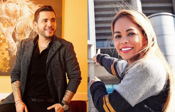 Fotos de Jessi Uribe y su exesposa juntos en navidad
