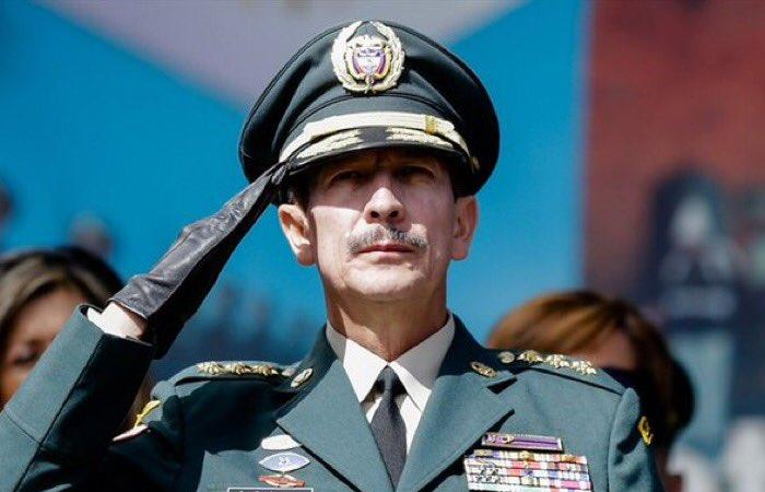 Exdirector del Ejército Nacional, general Nicacio Martínez. Foto: Twitter