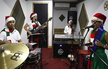 Azul Ilusión, la agrupación colombiana que venció barreras de la discapacidad a través de la música