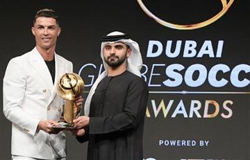 Cristiano gana este premio tras superar a Messi