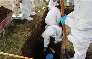 Derechos Humanos pide exhumar e identificar restos hallados en fosa común con urgencia
