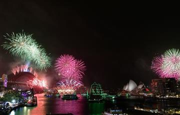 [VIDEO] Australia y Nueva Zelanda ya le dieron la bienvenida al 2020