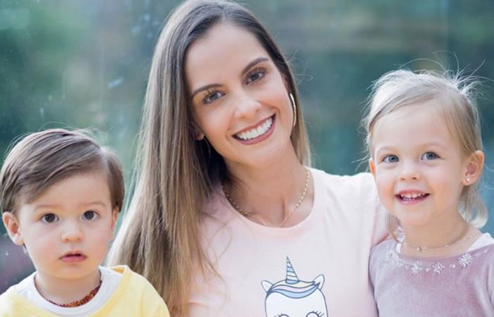 Laura Acuña no publica fotos con su esposo