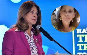 """[VIDEO] """"¿A quién le está gritando?"""": Vicepresidenta respondió a hombre que 'la sacó de casillas' en evento"""
