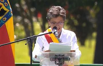 Acompañada de la ciudadanía, Claudia López se posesionó como alcaldesa de Bogotá