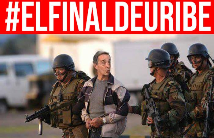 Uribe habría colaborado con 'El Chapo' durante su mandato presidencial. Foto: Twitter