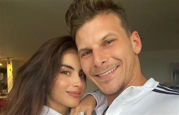 En plena celebración de año nuevo le proponen matrimonio a Jessica Cediel