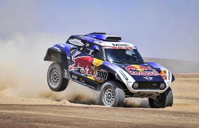 Rally Dakar 2020 Arabia Saudita pilotos colombianos giordano pacheco nicolás robledo antonio marmolejo
