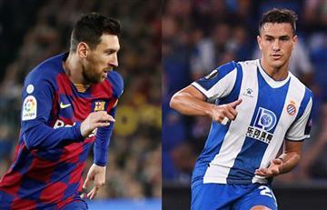 Bernardo Espinosa tratará de frenar a Messi en el derbi catalán