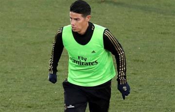James Rodríguez quedó fuera de la convocatoria de Real Madrid