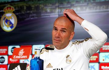 Zidane quiere mejorar la imagen de Real Madrid en 2020
