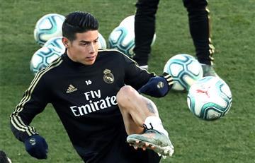 La lesión de un compañero ayudaría a James a volver a jugar con Real Madrid