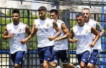 Los colombianos de Boca Juniors iniciaron trabajos con Miguel Russo como nuevo DT