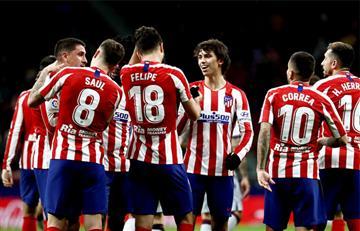 Atlético de Madrid venció a Levante con Santiago Arias en la suplencia