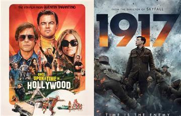 """""""Once Upon a Time... in Hollywood"""" y """"1917"""" vencen en los Globos de Oro"""