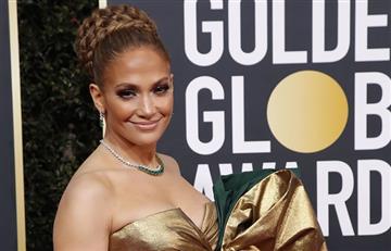 JLo da a entender en los Globos de Oro que se casó con Alex Rodríguez