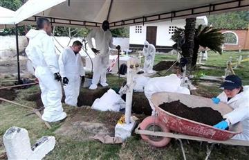 Dos fosas comunes con seis cuerpos fueron hallados en Nariño