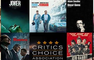 Revelan la lista de nominados a los Critics' Choice Awards