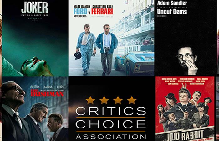 Nominados Critics' Choice Awards 2020