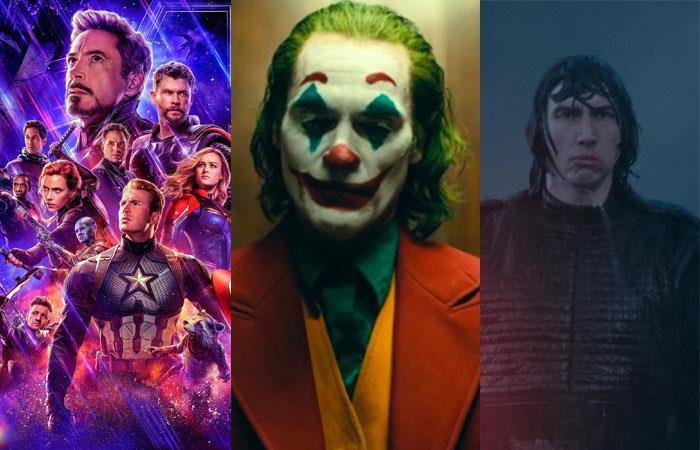 Cine recaudación Estados Unidos Avengers Endgame Frozen Joker Star Wars