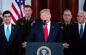 """""""EE.UU. está preparado para abrazar la paz"""": Donald Trump a Irán"""