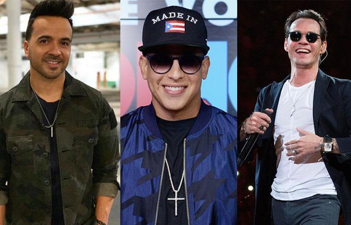 Terremoto Puerto Rico Luis Fonsi Daddy Yankee Marc Anthony Residente