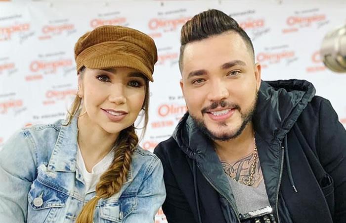 Su foto dejaría en evidencia que estaría con la cantante. Foto: Instagram