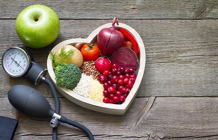 Recomendaciones nutricionales vida saludable