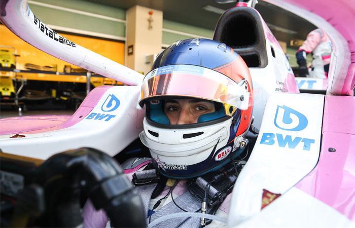 Tatiana Calderón, primera mujer en participar en la Súper Fórmula de Japón