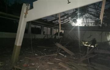 5 personas lesionadas tras ataque a base militar en Arauca