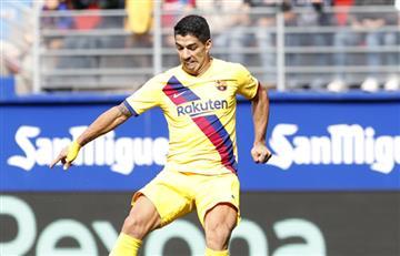 Luis Suárez será baja en Barcelona por una lesión en la rodilla