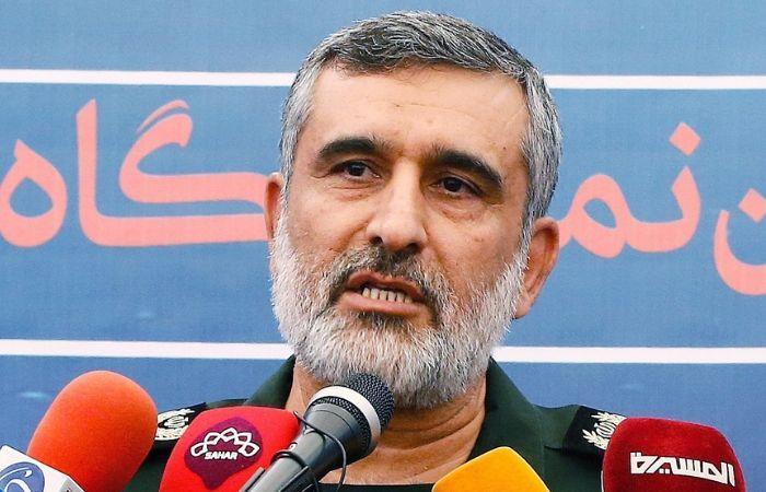 Jefe de la división aeroespacial de la Guardia Revolucionaria iraní, Amir Ali Hajizadeh. Foto: EFE