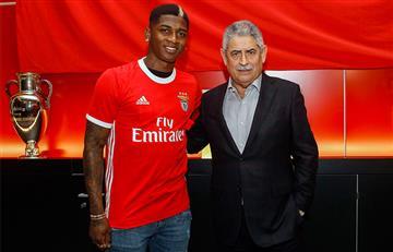 Yony González fue presentado oficialmente en Benfica