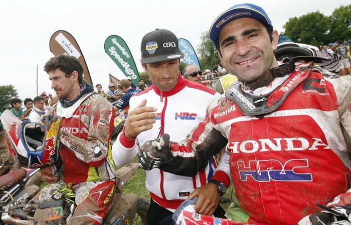 Rally Dakar Gonçalves Arabia Saudita Desierto motos y quads